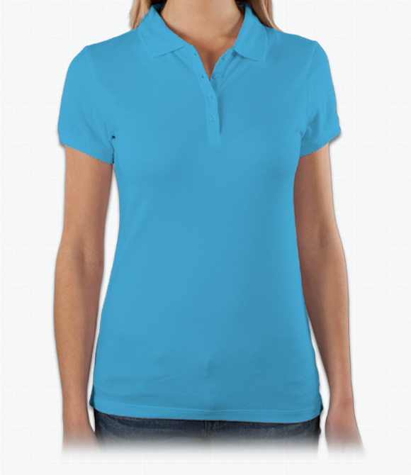 Bella Ladies 5.6 oz. Cotton/Spandex Mini Pique Polo image