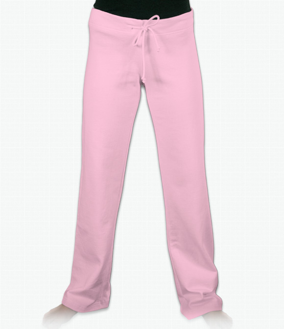 Bella Ladies 7.5 oz. Fleece Straight Leg Sweatpants image
