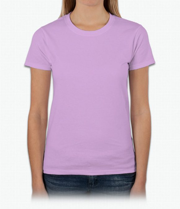 Custom gildan ultra cotton ladies t shirt design online for Designer tee shirts womens