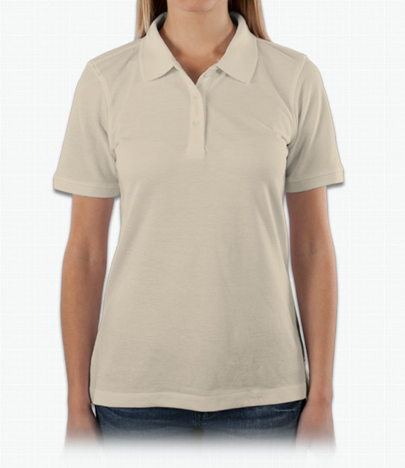 Harriton Ladies 5.6 oz. Easy Blend Polo image