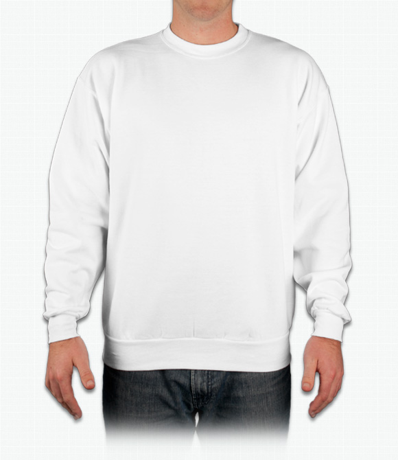 Hanes 10 oz. Ultimate Cotton 90/10 Fleece Crew image