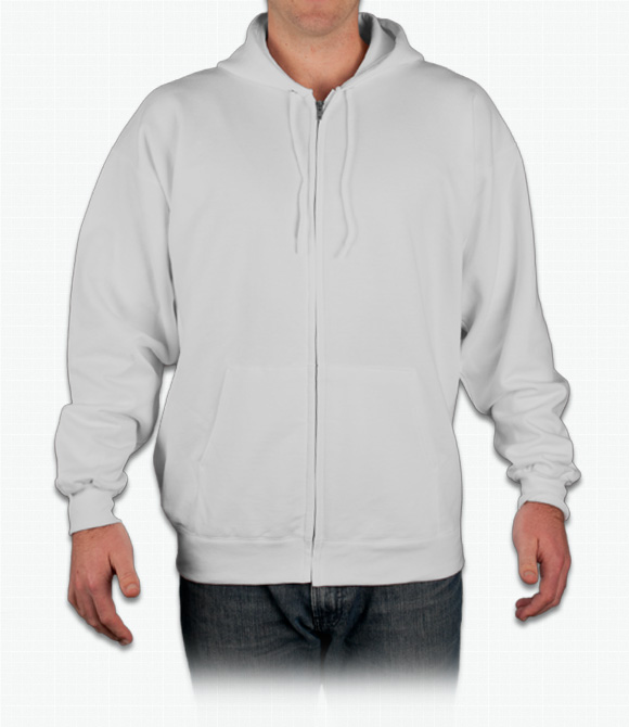 Hanes 10 oz. Ultimate Cotton 90/10 Full-Zip Hood image