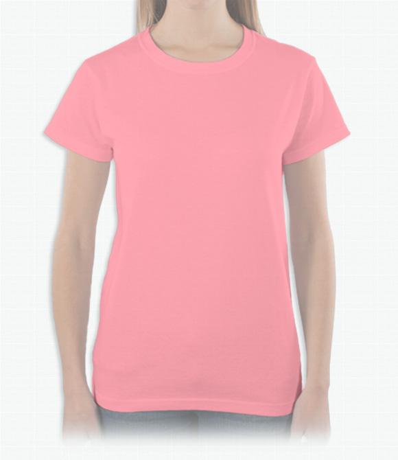 Anvil Ladies Crewneck T-Shirt image