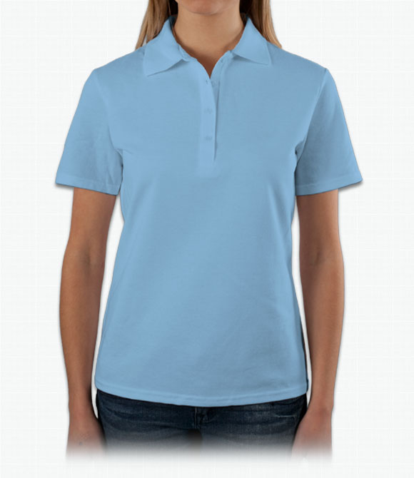 Hanes Ladies 7 oz. ComfortSoft Cotton Pique Polo