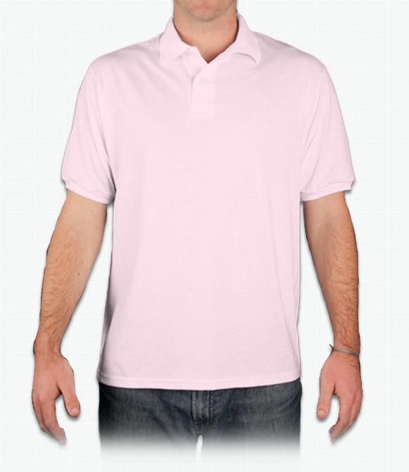 Hanes 5.5 oz 50/50 EcoSmart Jersey Knit Polo