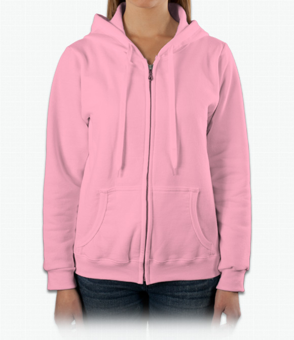 Gildan Ladies 8 oz. Heavy Blend 50/50 Full-Zip Hood image