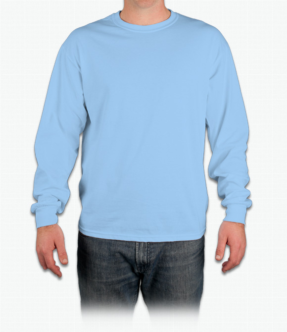 Custom Gildan Ultra Cotton Long Sleeve T-Shirt - Design Online