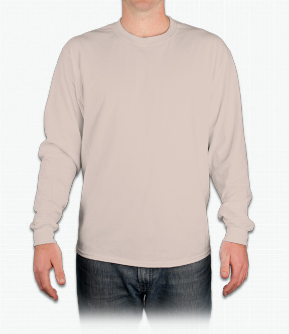 Hanes Beefy-T Long-Sleeve T-Shirt