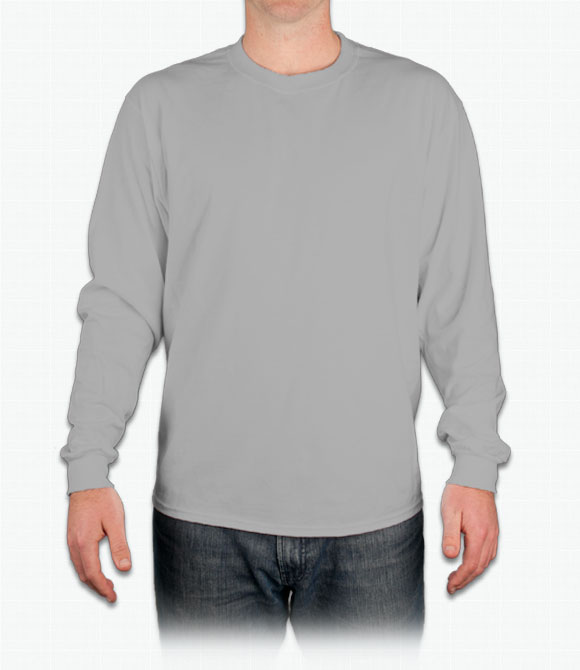 Hanes Long Sleeve Tagless T-Shirt image