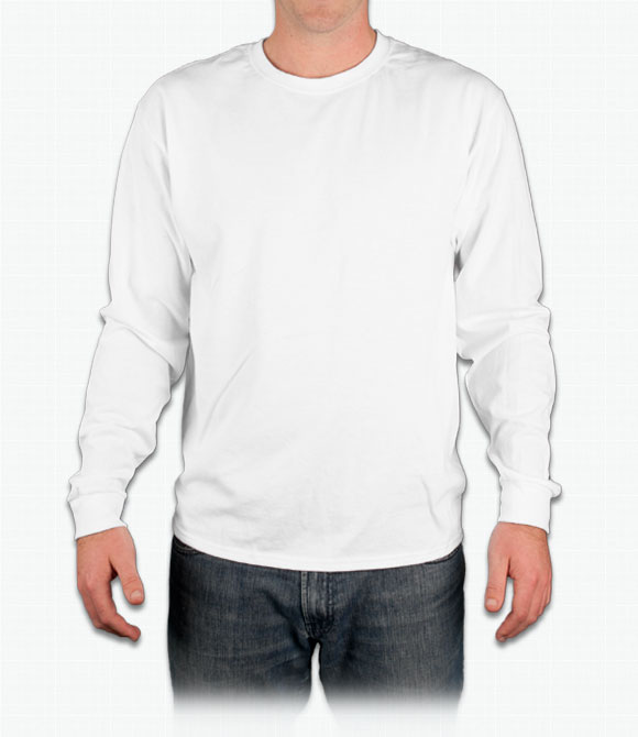 Custom Champion Tagless Long Sleeve T-Shirt - Design Online