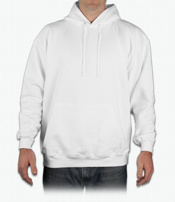 Custom hanes 50 50 hooded sweatshirt design online for Custom shirts and hoodies cheap