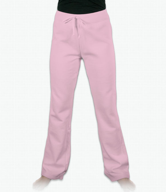 Hanes Ladies Fleece Pants image