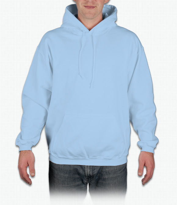 0d6d91ee24436 Custom Gildan 50/50 Hooded Sweatshirt - Design Online