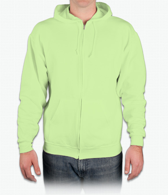 Jerzees Zip Front Hoodie
