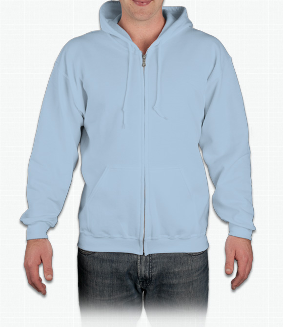 Gildan Zip Front Hoodie