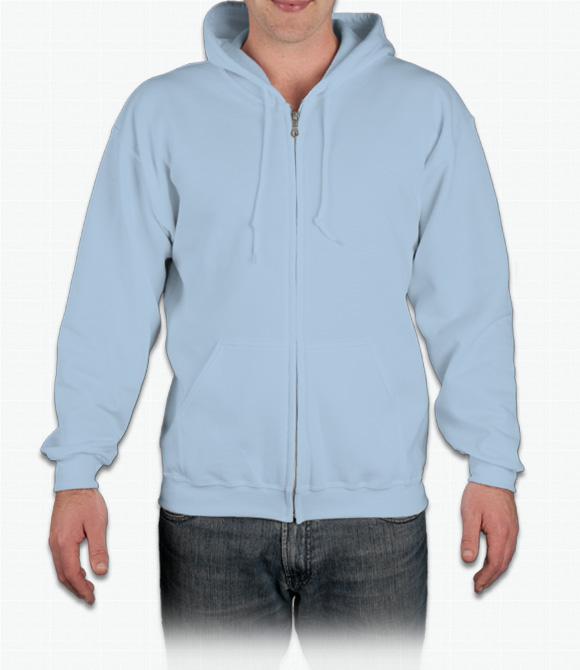 Gildan Zip Front Hoodie