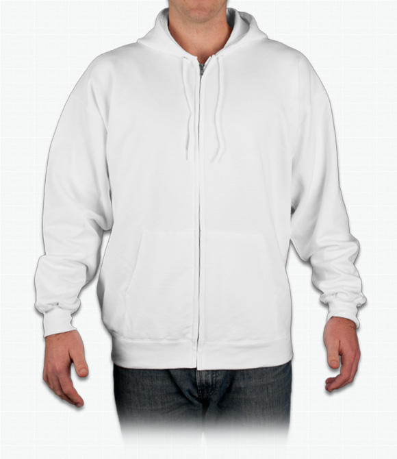 Hanes Zip Front Hoodie