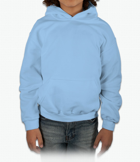 Gildan Youth Hooded Sweatshirt image