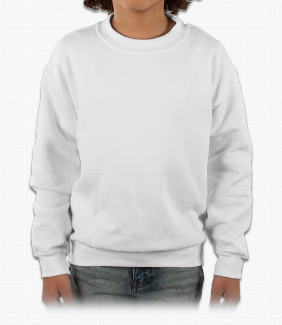 baf9f93404e5c Custom Gildan Youth Crewneck Sweatshirt - Design Online