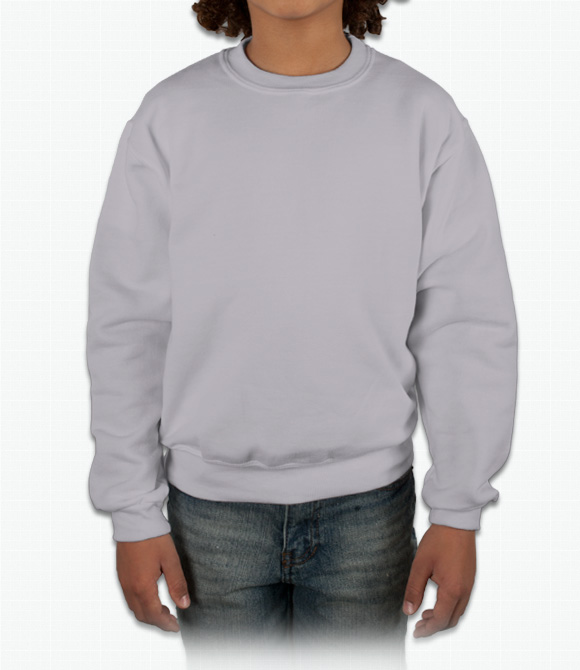 Jerzees Youth Crewneck Sweatshirt image