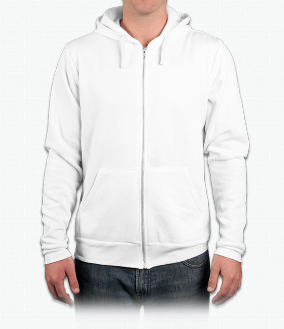 Canvas Unisex 8.2 oz. Triblend Full-Zip Hoodie image