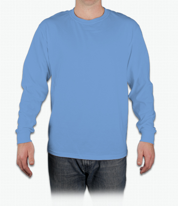 Fruit of the Loom 5 oz. 100% Heavy Cotton HD Long-Sleeve T-Shirt image